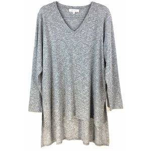 NWT Two By Vince Camuto Gray Ribbed Sweater 1X